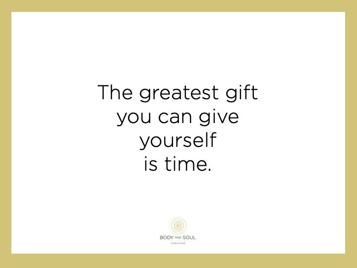 Geef jezelf tijd.