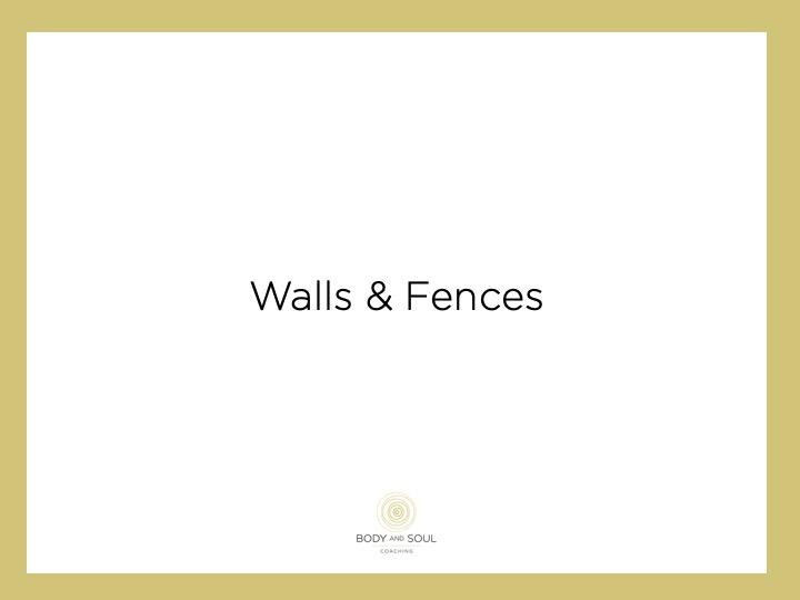 Muren en hekken